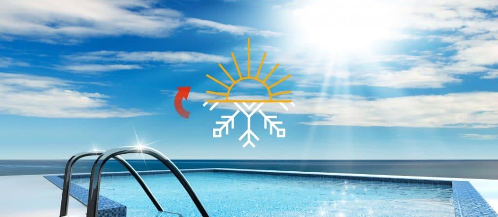 سیستم گرمایش خورشیدی استخر