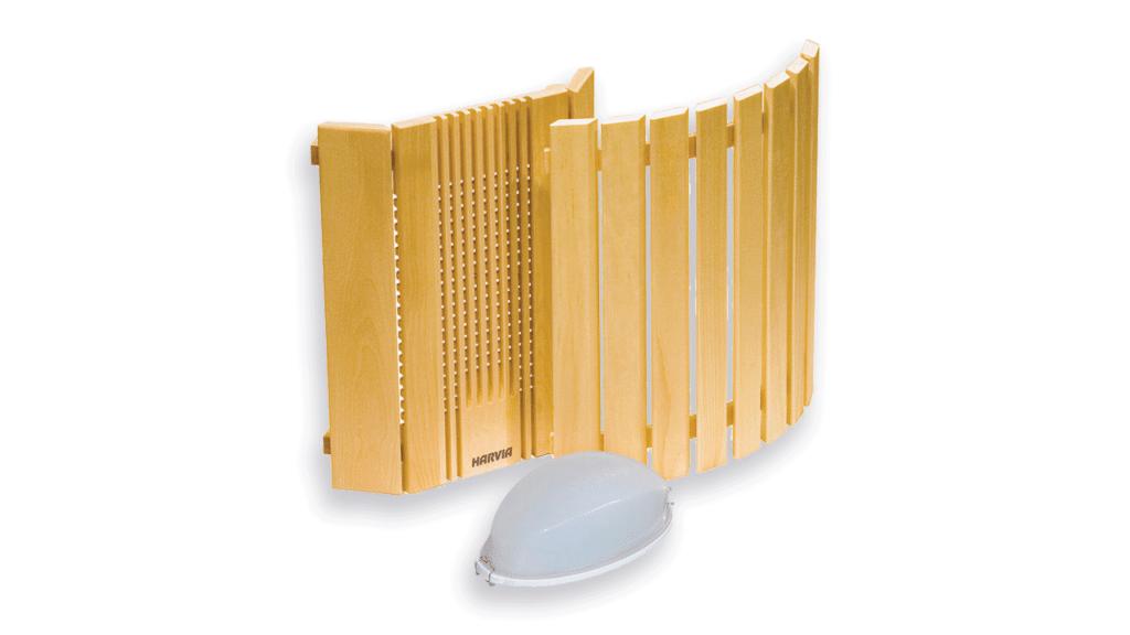 محافظ چوبی چراغ سونا