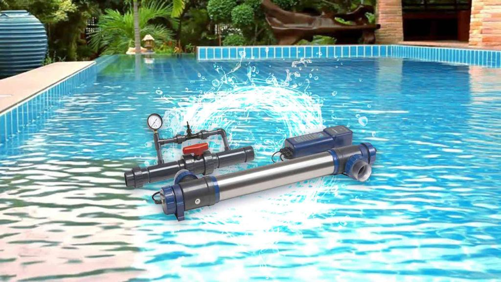 کاربرد سیستم ازن-UV برای گندزدایی آب استخر