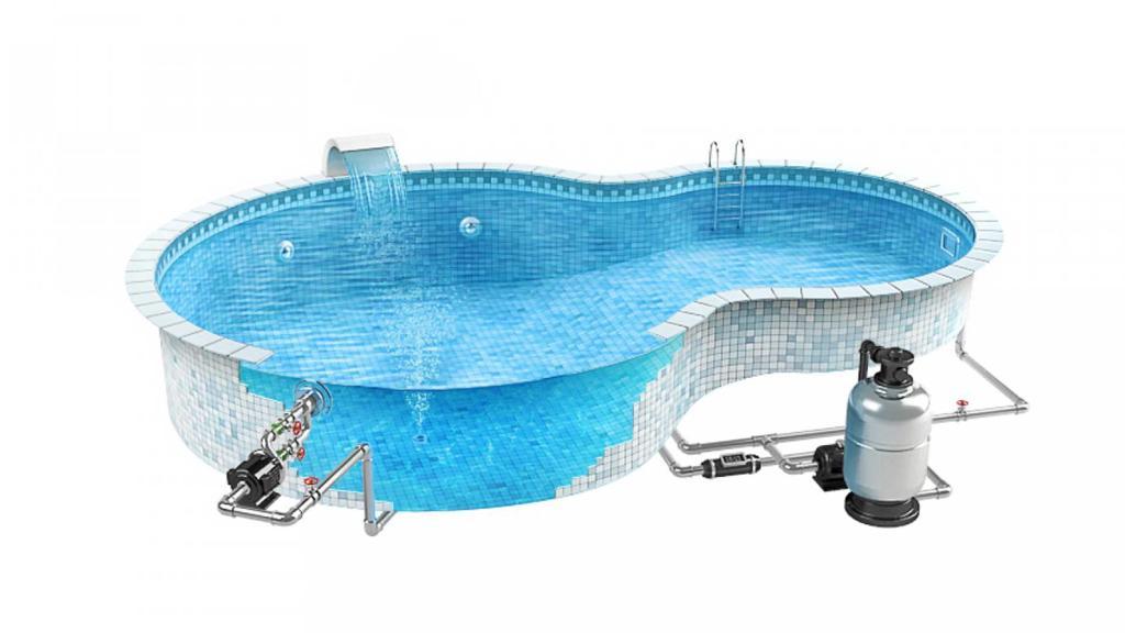 آناتومی استخر شنا